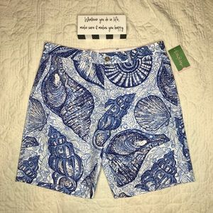 🆕 Lilly Pulitzer Men's Beaumont Shorts 38R